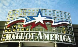Mall of America sign.