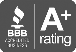 Better Business Bureau A+ Rating.