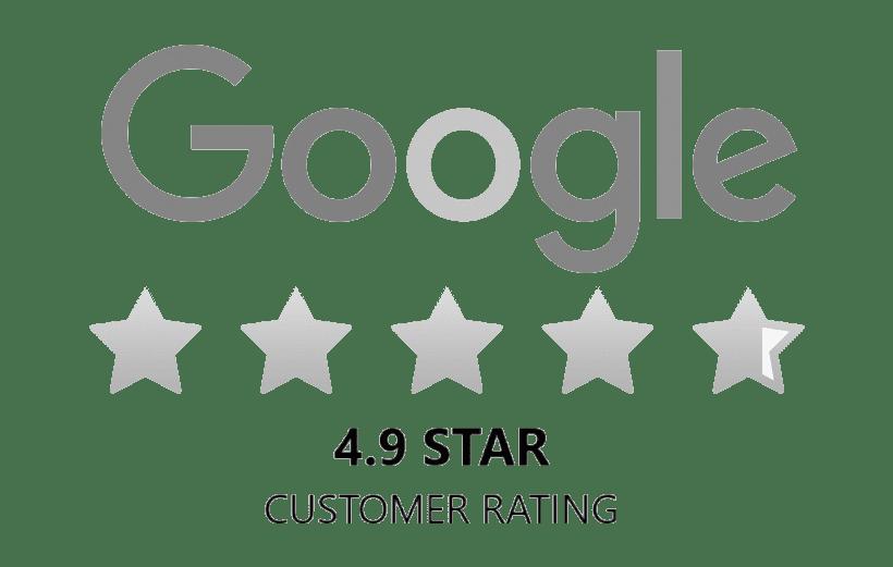 Google 5 Star Customer Service Rating