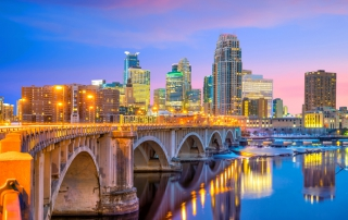 Photo of the Minneapolis Skyline. Click here for the Best of the Twin Cities.