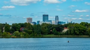 Photo of Lake of the Isles, One of the Best Twin Cities Parks.