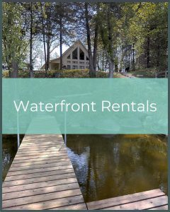 Waterfront Vacation Rentals in the Minneapolis Area