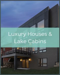 Luxury House and Lake Cabins